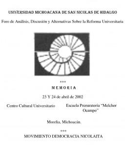 MovimientoDemocraciaNicolaita 2002