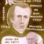 Miguel Hidalgo y Costilla Gallaga. Dibujo obra de Eduardo Garibay Mares. Abril 17 de 2005