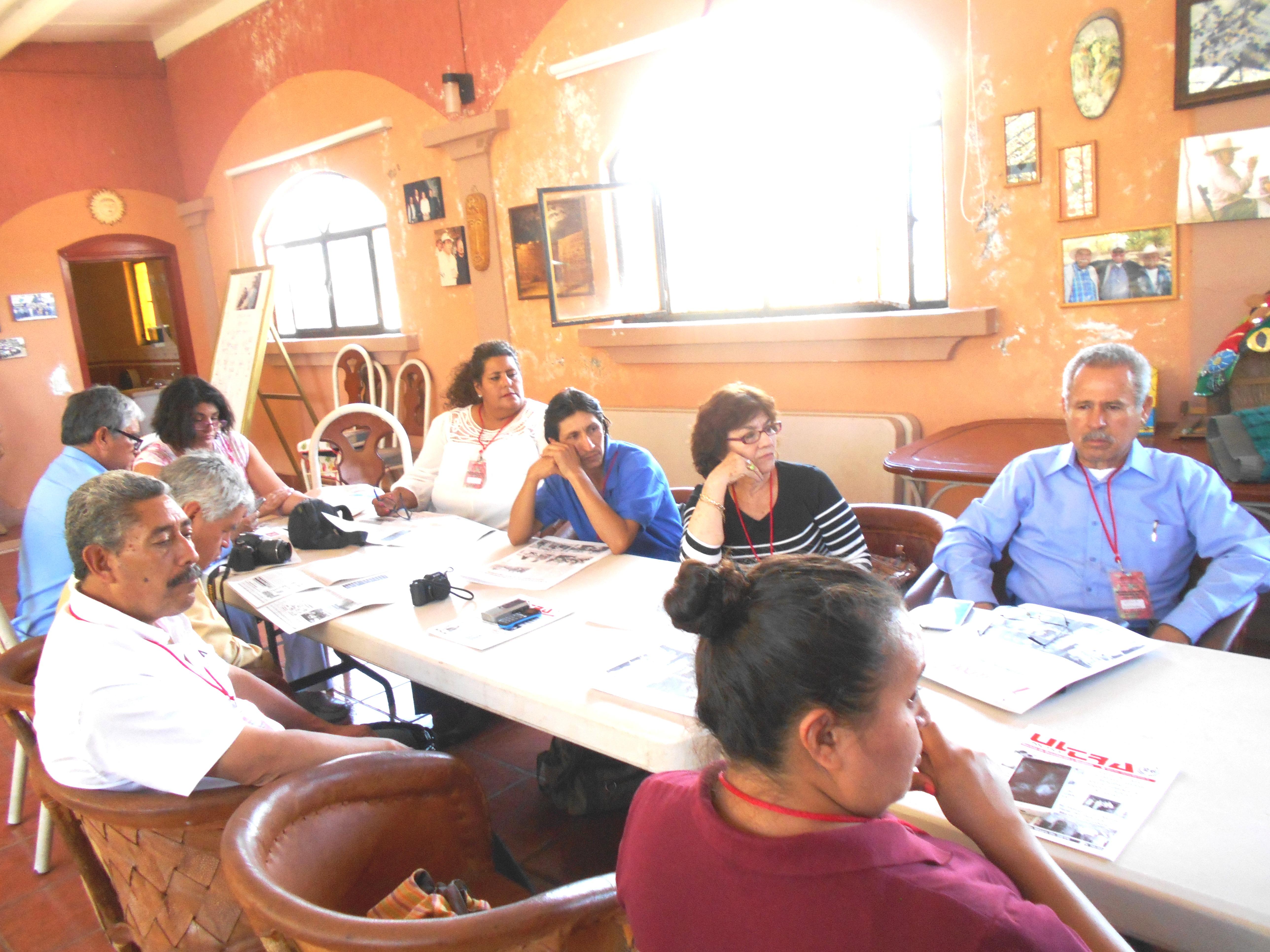 Asociados en Asamblea AMIPAC-APREFOJAC. Junio 4 de 2016. Eduardo Garibay Mares