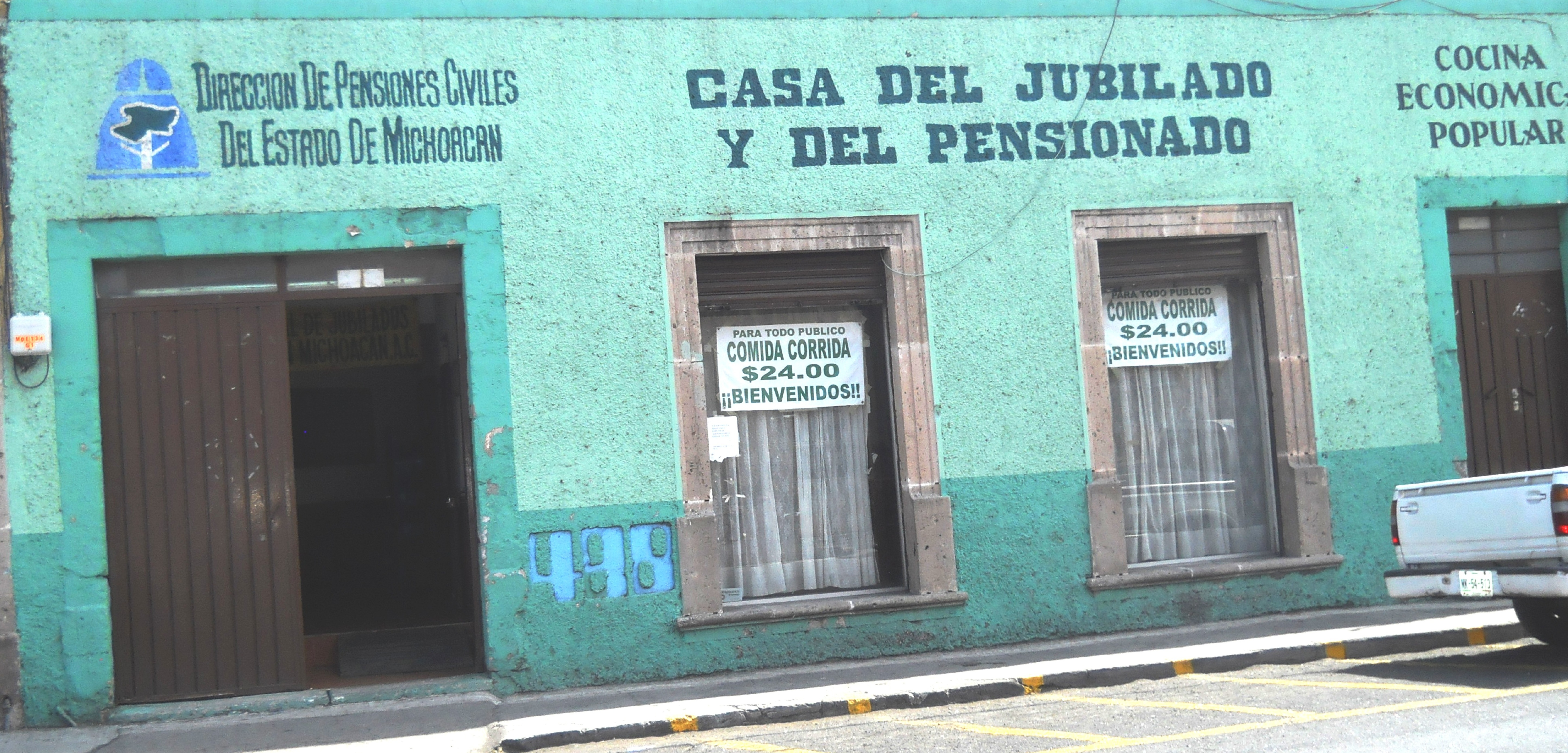 Casa de la Asociación de Jubilados y Pensionados. FOTO-Luis Cortés Vidales