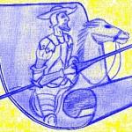 Don Quijote de la Mancha. Dibujo-Mych