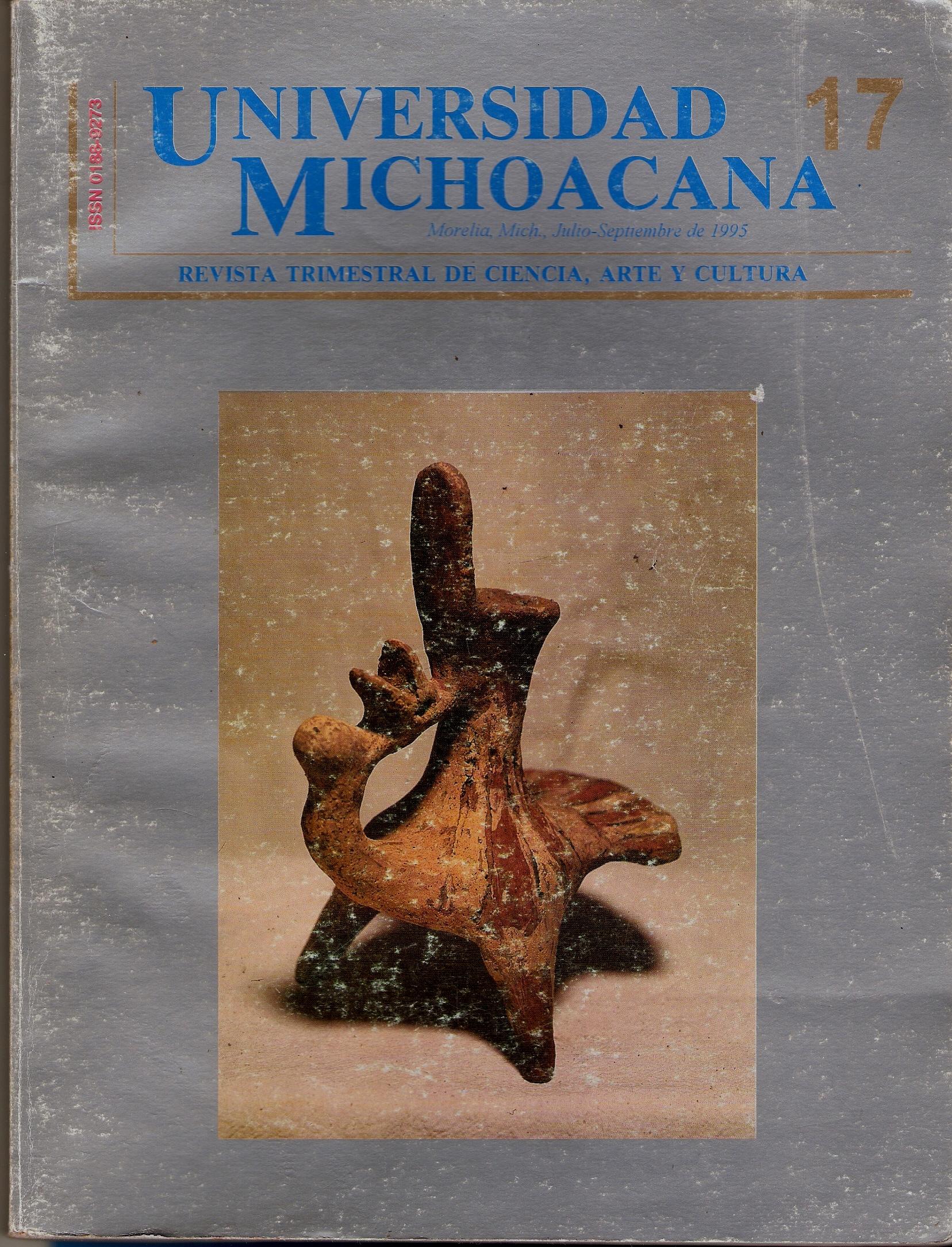 Revista Universidad Michoacana No. 17 de 1995